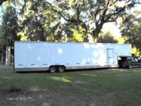 Excellent disorder. Enclosed trailer can be taken by
