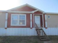 **Beautiful 2007 3 bedroom 2 bath home on 5 acres**Cash