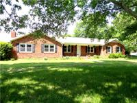 ALL BRICK RANCH HOME W /3 BED, 2 BATH, FORMAL LIVING,