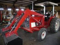 We have for sale a 484 International tractor with