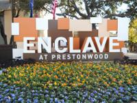 Sophisticated Urban Living!The Enclave at Prestonwood