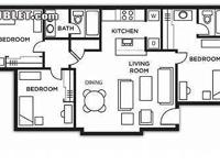 $489 Sublet! Nittany Crossing, 1 Bedroom with Private