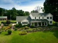 Vintage upscale charm, classic barns & a truly pastoral