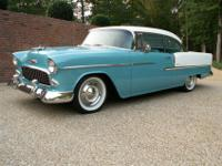 1955 Chevrolet Bel Air 2 Door Hardtop. New >> Paint and