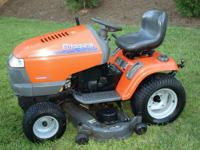 "48"" 25 HP Hydrostatic Garden Tractor, model number"