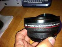 .48x Professional High Speed Wide Angle Lens W/ Macro -
