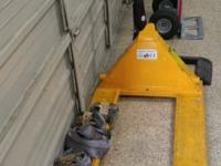 I have for sale 48x27 Uline Standard Pallet Truck
