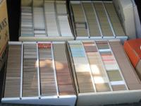 20,000 Baseball Cards Late 1980 CollectionI would say