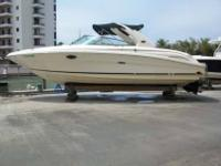 2004 Sea Ray 290 BOW RIDER Stored high and dry indoor,