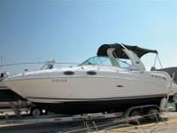 2005 Sea Ray 260 SUNDANCER Here is a great cabin