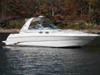 1998 Sea Ray 310 SUNDANCER Smooth riding express