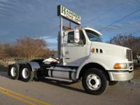 2007 Sterling 9500 Tandem Daycab, C-13 Caterpillar,