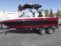 The Crossover Nautique 216V is a work of art. From its
