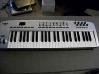 I am selling a M-AUDIO USB powered Oxygen 49 key MIDI