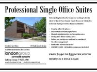 SINGLE OFFICE SUITES AVAILABLE!  Impressive place for