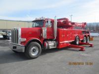 2012 Peterbilt 388 Red, Cummins 600 HP 15L ISX, 18
