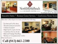 NMBBC Office Space for Lease include WIFI!  Where can