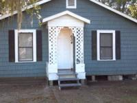 We have a two bedroom one bath house for rent (located