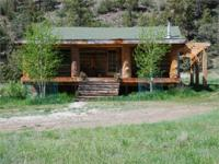 Walking Thunder Ranch has a custom cabin with 2BR, 2BA