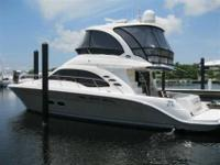 2006 Sea Ray 52 SEDAN BRIDGE This is an exceptional 52