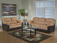 New Sofa & & Chair. Out the door rate $499.95. Can be