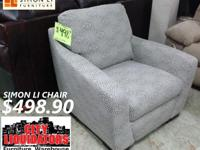 """YES THIS IS AN ACTUAL """"SIMON LEE"""" SIDE CHAIR FOR ONLY"""