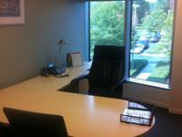 Bright window office available in Durham for $499/month