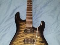 For sale, a Music man JP100! This is a great guitar. By