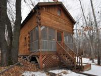 Gorgeous cabin on 2+ acres with over 200 feet of
