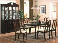 WI #973/40 Table ,Two Arm Chairs & Four Side Chairs