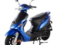 The ATM50-A1's 49cc 4-stroke, air cooled engine pulls