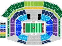 2 tickets to see the San Francisco 49ers VS the San