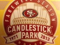 Candlestick Park Farewell Season 49ers vs Texans Sunday