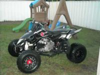 2008 Suzuki LT-R 450 Hiper Tech Wheels, Holeshot