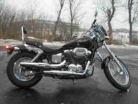 2006 HONDA SHADOW SPIRIT, Black,