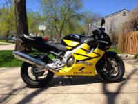 2004 Honda CBR F4i. Clean Title in Hand. Yellow/Black.
