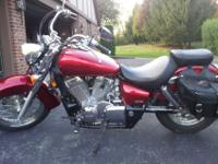 Like new 2008 Honda Shadow Aero (750) in excellent