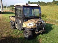 We have a 2004 Kubota RTV 900 side by side for sale. It
