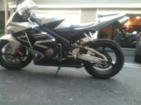 2005 Honda CBR 600RR only has 6,500 miles on it. I'm