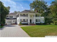 Gorgeous southern style colonial on 215 feet of deal