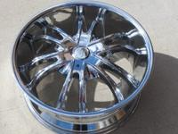 Four Brand New 20 Inch Rims for sale.  Ford Bolt