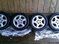 "Up for sale is a set of FOUR Dodge Alloy Rims (16"" x"
