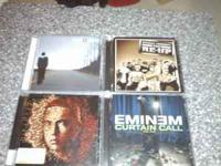 4 Eminem CD's edited. Cash/pick up.  Location: Auburn