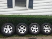 I have 5 rims and tires. They came off my 99 f150. I