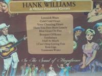 Each record contains many of Hank Williams best hits.