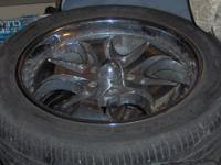 These mags have 5 lugs for Chevy wheels. These were