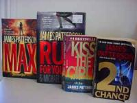 I have 4 James Patterson books 2 hardcover are in