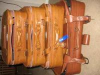 4 piece luggage set in good condition, rarely used