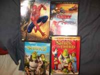 4 Good, popular movies the kids love!! At $15.00 makes