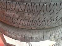 4 firestone tires. 265/70R16  used but still pass